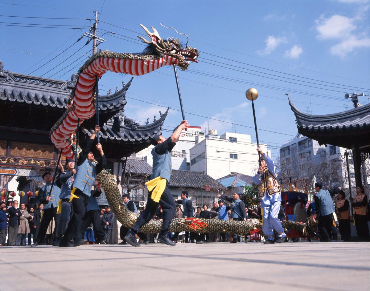 長崎観光龍踊り会